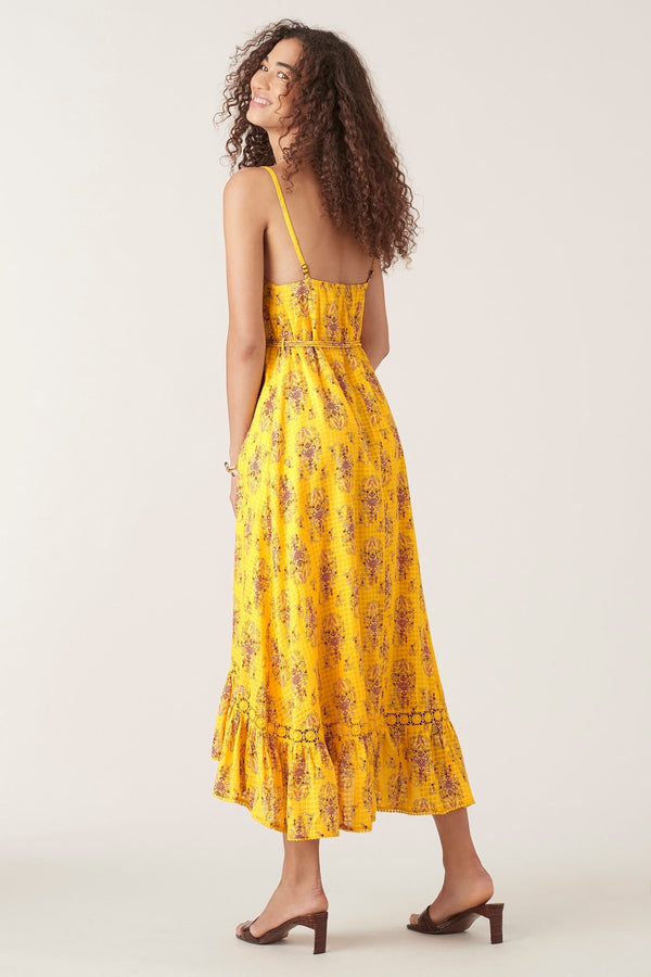 Pallavi Maxi Dress - Marigold