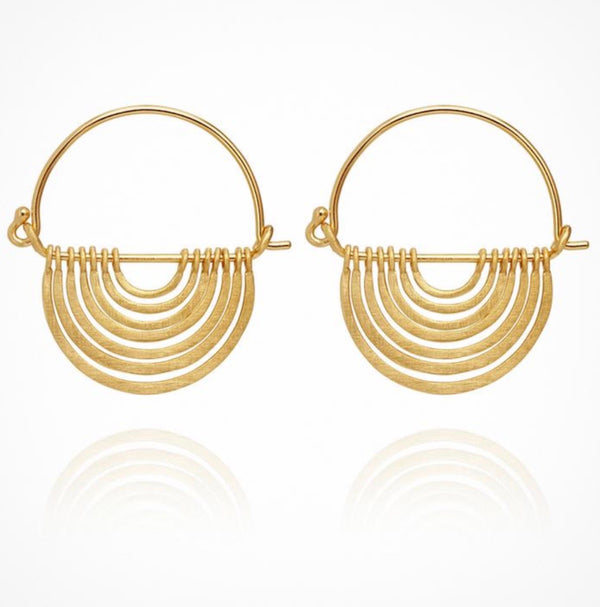 Baye Earrings - Gold