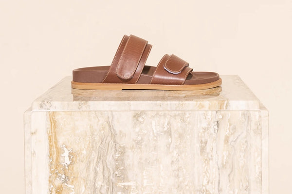 Izano Slide - Brown Vintage
