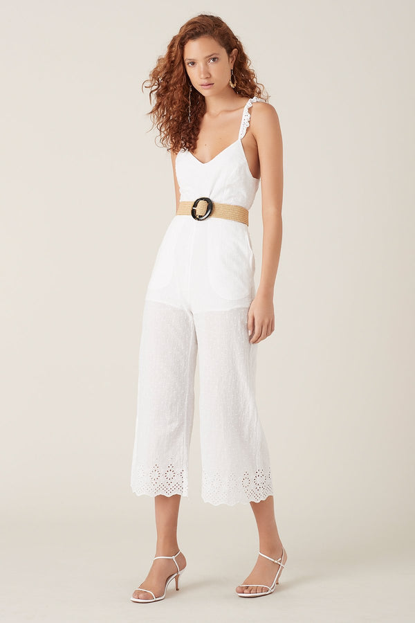 Elati Jumpsuit - White