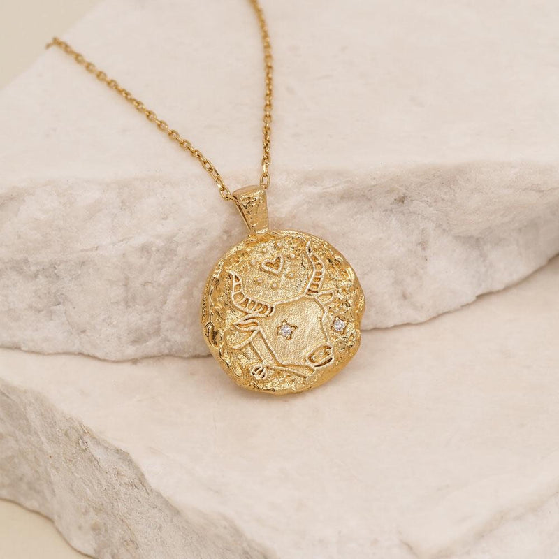 Taurus Necklace - Gold