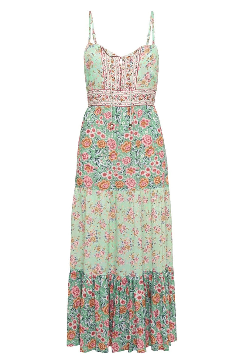 HARMONY STRAPPY DRESS Mint