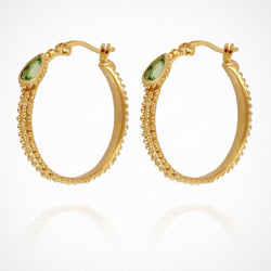 Gigi Hoop Earrings - Gold