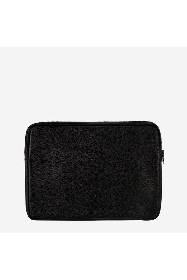 Before I Leave Laptop Case-Black