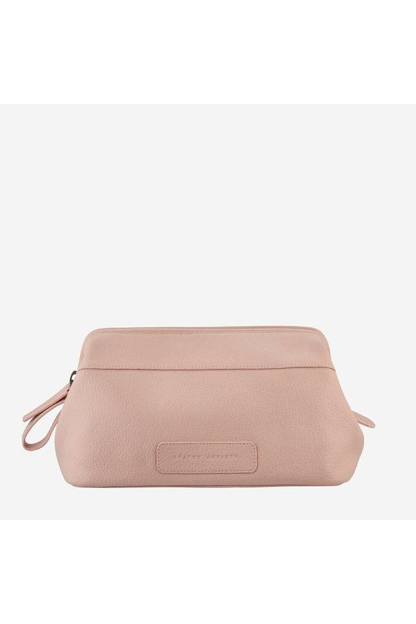 Liability Toiletries Bag-Dusty Pink