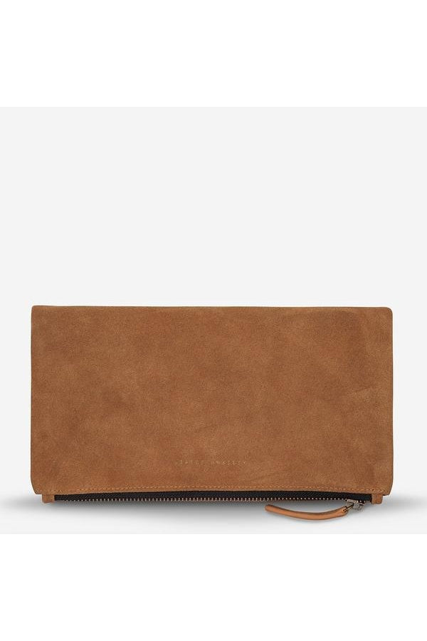 Feel the Night Clutch-Tan