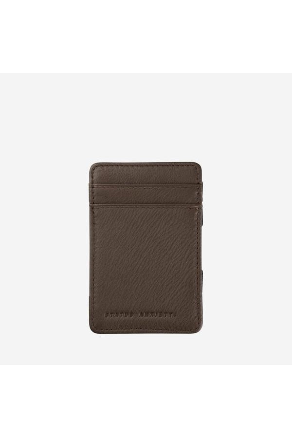 Flip Wallet-Chocolate