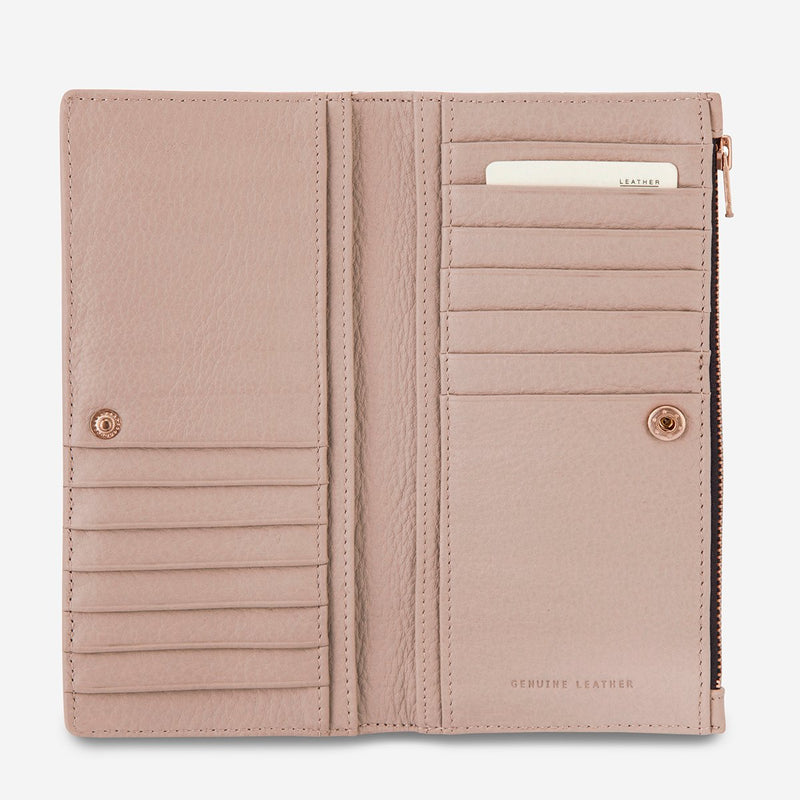In the Beginning Wallet-Dusty Pink