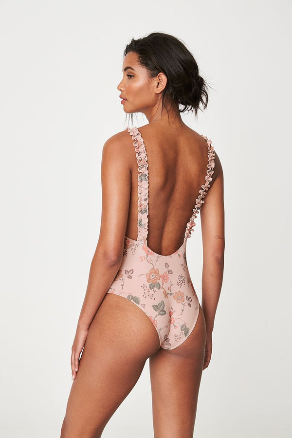 Holiday Onepiece - Blush Meadow