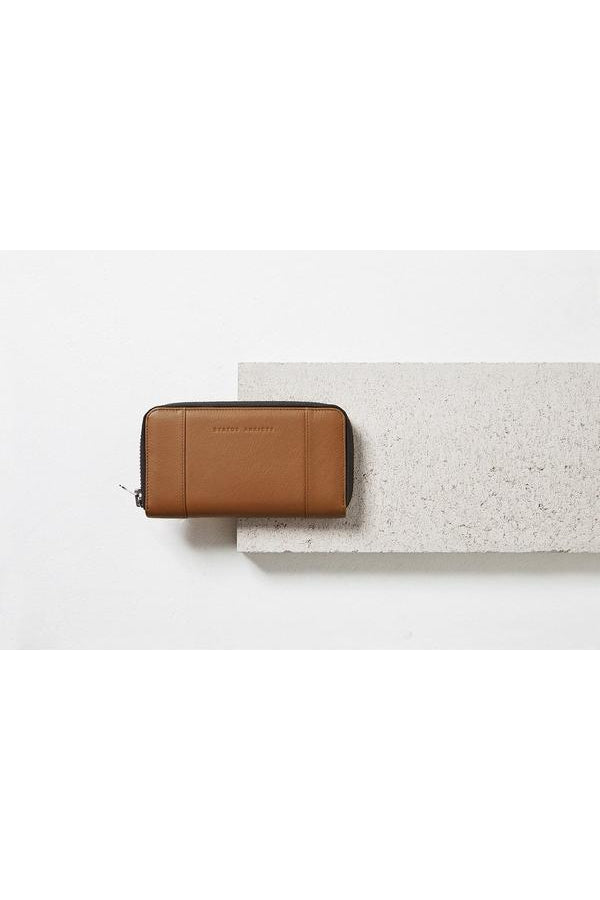 State of Flux Wallet-Tan