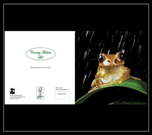 Frog Greeting Card - Country Matters