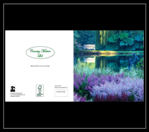 Garden Lake Greeting Card - Country Matters