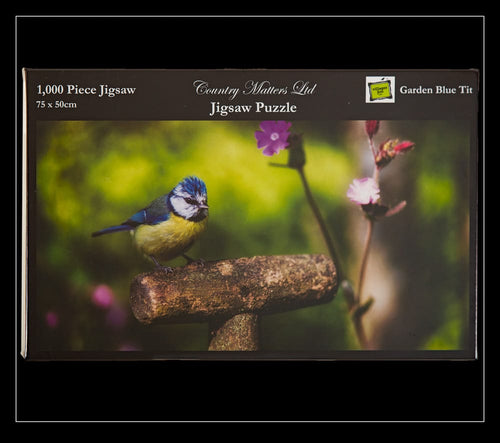 Blue Tit Jigsaw Puzzle - Country Matters