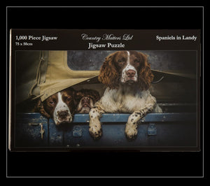 Spaniels in Landy Jigsaw Puzzle - Country Matters