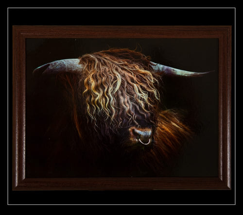 Highland Bull Lap Tray - Country Matters