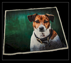 Amber the Jack Russell Throw - Country Matters