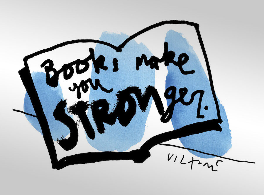 Books Make You Stronger
