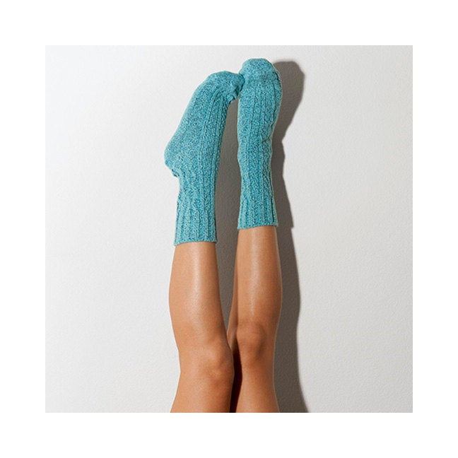 Biscay Bay Marled Cable Knit Crew Socks, Lingerie Unique Gifts Lingerie Unique Gifts PM-501B