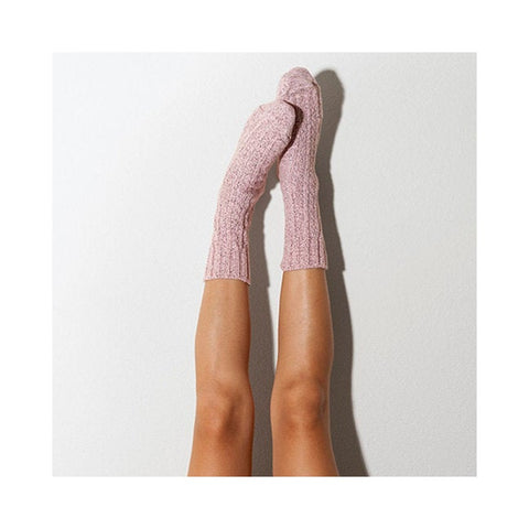 Pink Gift Socks, Cozy Short Socks, Soft Cute Socks, Millenial Pink Knitted Socks, Women's Socks, Cozy Gift, Snuggle Socks, Bookish PM-501P