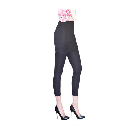 Black Skirted Leggings, PM-104