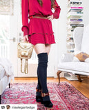 Thigh High Socks- Multi Pack of 3 Womens Boot Socks, Wine Red, Marine Navy Blue, Jet Black, Long Over the Knee Knit Socks PM3PM-088WNK