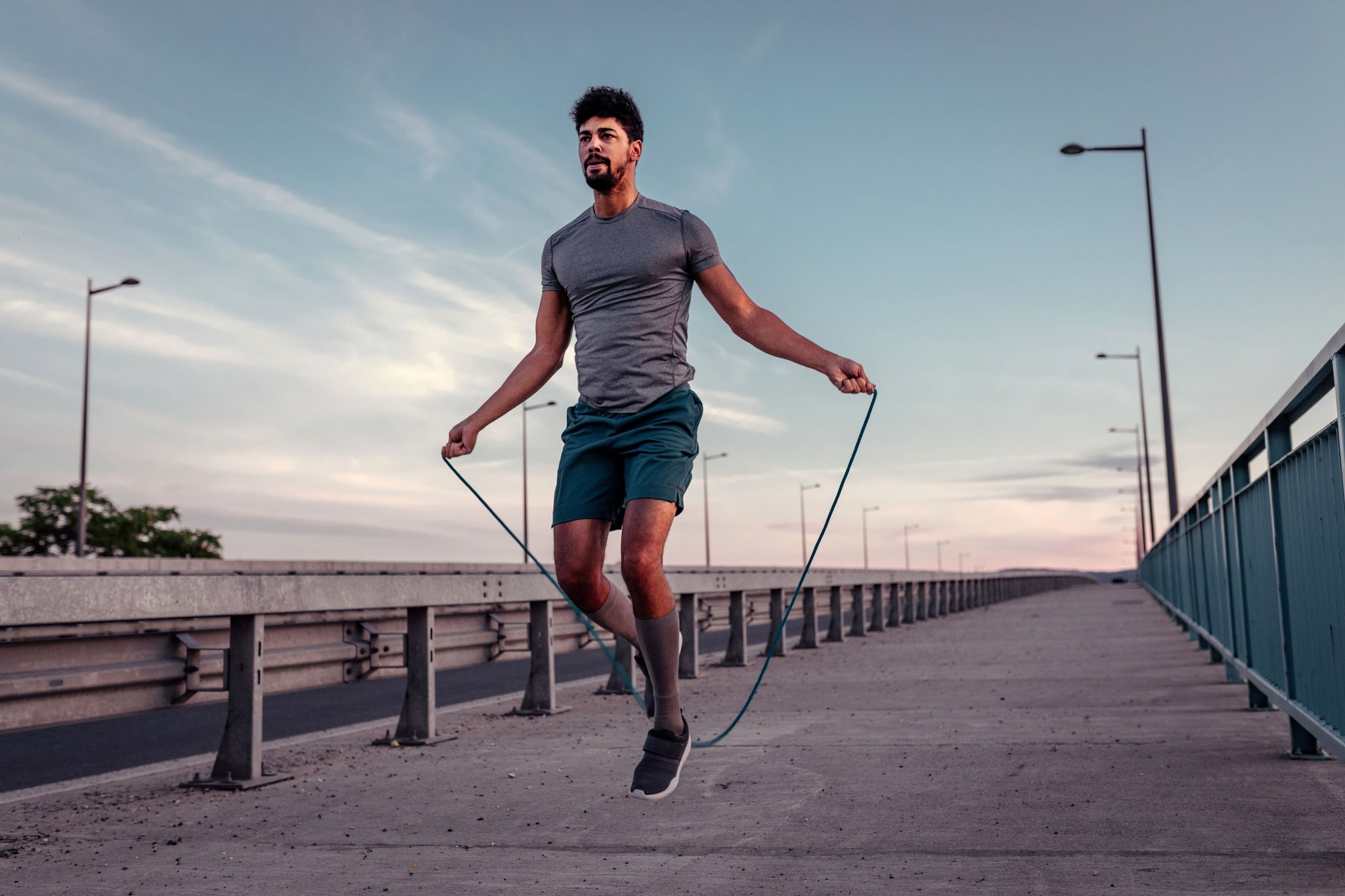 Beginner Bodyweight Workout Jump Rope