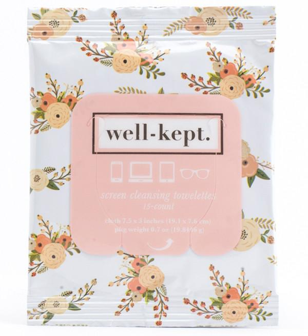 Floral Screen Cleaning Wipes