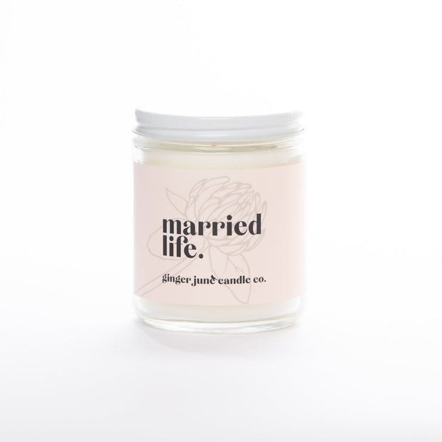 """Married Life"" Apricot + Fig Candle"