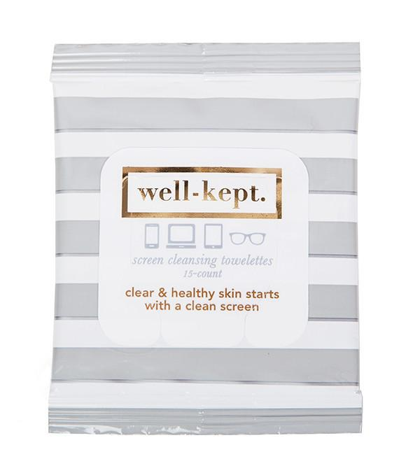 Gray Screen Cleaning Wipes