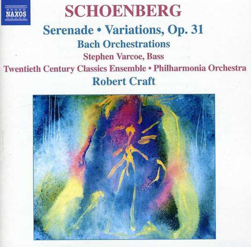Robert Craft Collection: Serenade, Variationen für Orchester u. a. (CD)