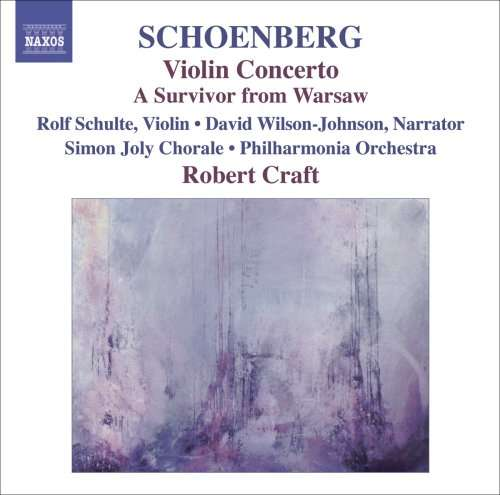 Robert Craft Collection: Ode to Napoleon op. 41, A Survivor from Warsaw op. 46 u. a. (CD)