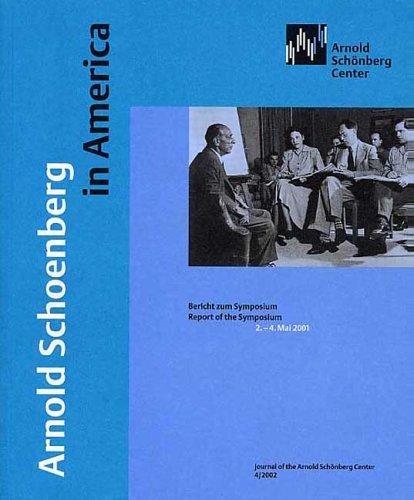 Arnold Schoenberg in America (Paperback)