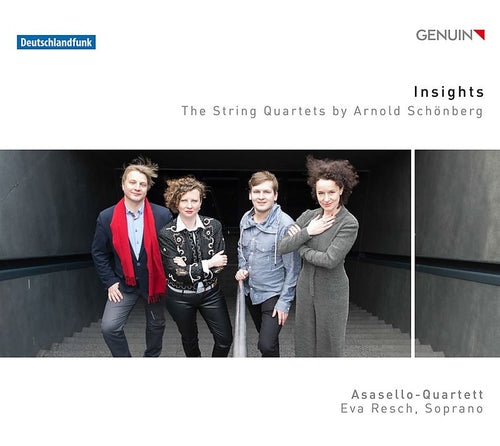 Insights - The String Quartets by Arnold Schönberg (2x CD)
