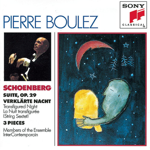 Ensemble InterContemporain; Pierre Boulez: Verklärte Nacht, Suite op. 29, u. a. (CD)