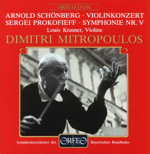 Dimitri Mitropoulos conducts Schönberg and Prokofjew (CD)