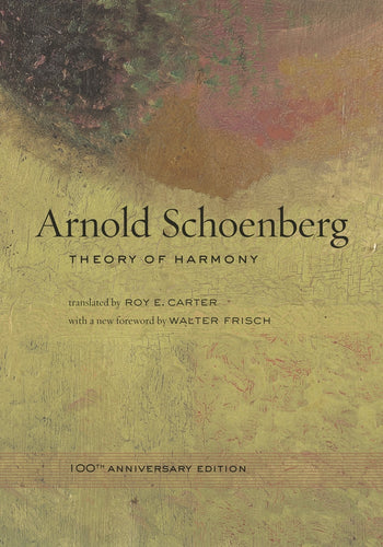 Arnold Schoenberg: Theory of harmony (Paperback)