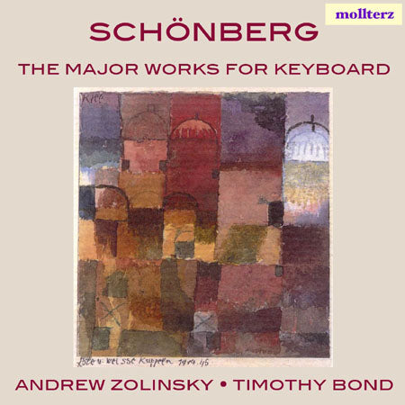 Schönberg - The major works for keyboard (CD)