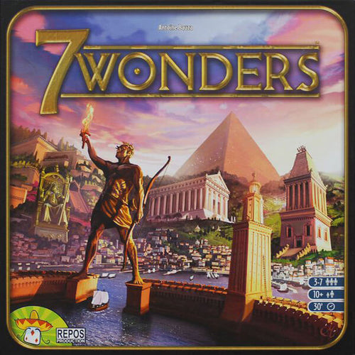 7 Wonders - board game - Repos Production - Dice and Counters