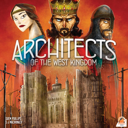 Architects of the West Kingdom-board game-Garphill Games-Dice and Counters