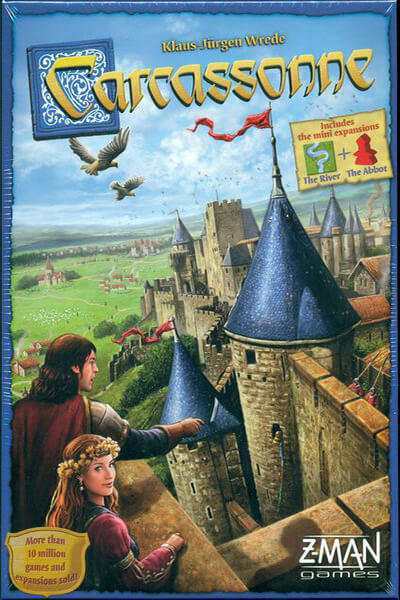Carcassonne-board game-Zman Games-Dice and Counters
