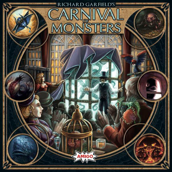 Carnival Of Monsters-board game-Amigo-Dice and Counters