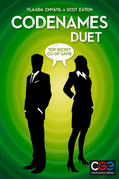 Codenames Duet - board game - Czech Games Edition - Dice and Counters
