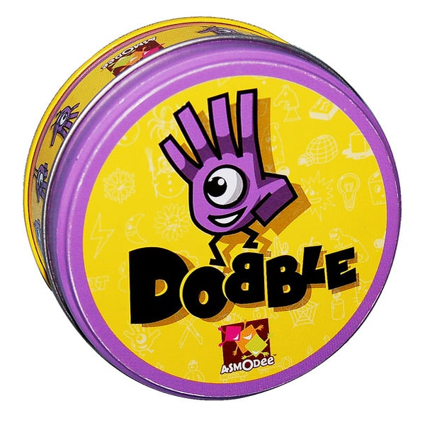 Dobble-board game-Asmodee-Dice and Counters