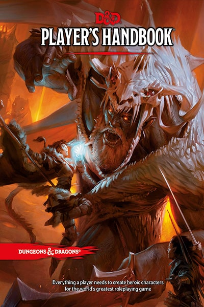 Dungeons & Dragons Players Handbook-book-Wizards of the Coast-Dice and Counters
