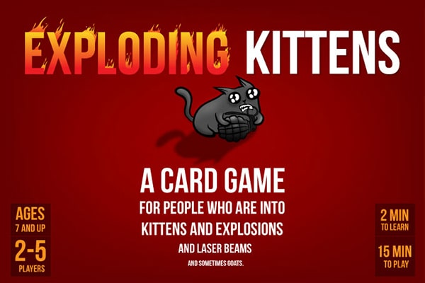 Exploding Kittens-board game-Exploding Kittens-Dice and Counters