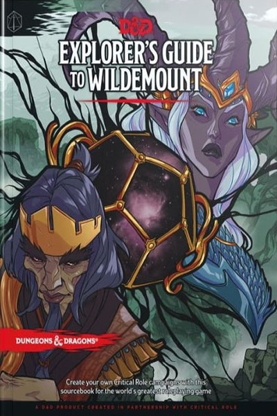 Explorer's Guide to Wildemount - book - Wizards of the Coast - Dice and Counters