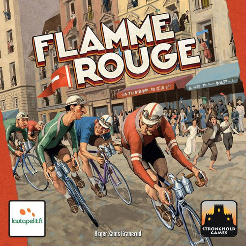 Flamme Rouge-board game-Stronghold Games-Dice and Counters