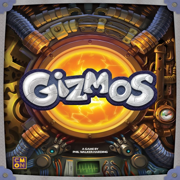Gizmos - board game - CMON - Dice and Counters