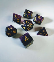 Load image into Gallery viewer, Purple Kingdom Galaxy Dice Set-Dice-Dice and Counters-Dice and Counters