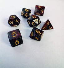 Load image into Gallery viewer, Blood Galaxy Dice Set-Dice-Dice and Counters-Dice and Counters